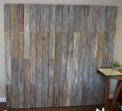Barnwood Portable Backdrop