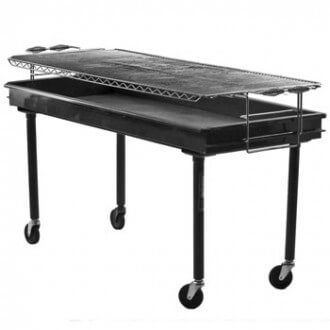 Charcoal 2x5 grill