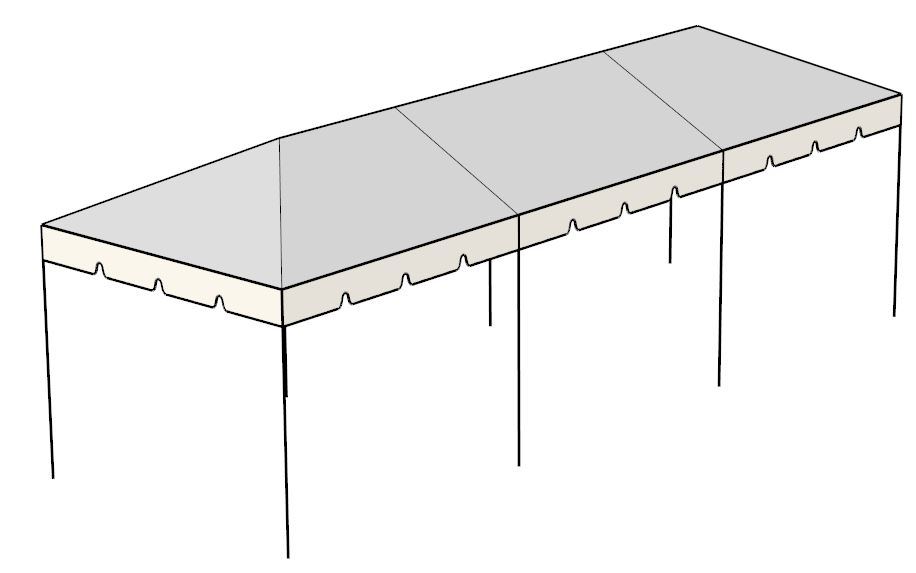 30 x Tent Canopies