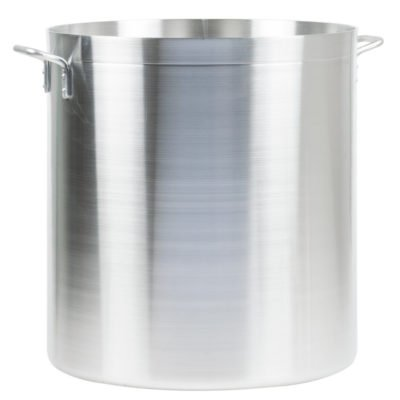 120 qt heavy weight aluminum stock pot