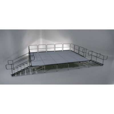 16 x 20ft Stage with Dual Steps