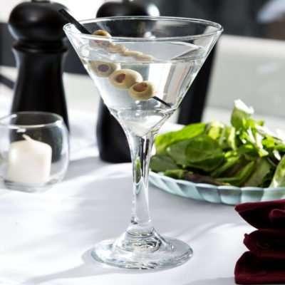 2 Martini Glass (9.2 oz)