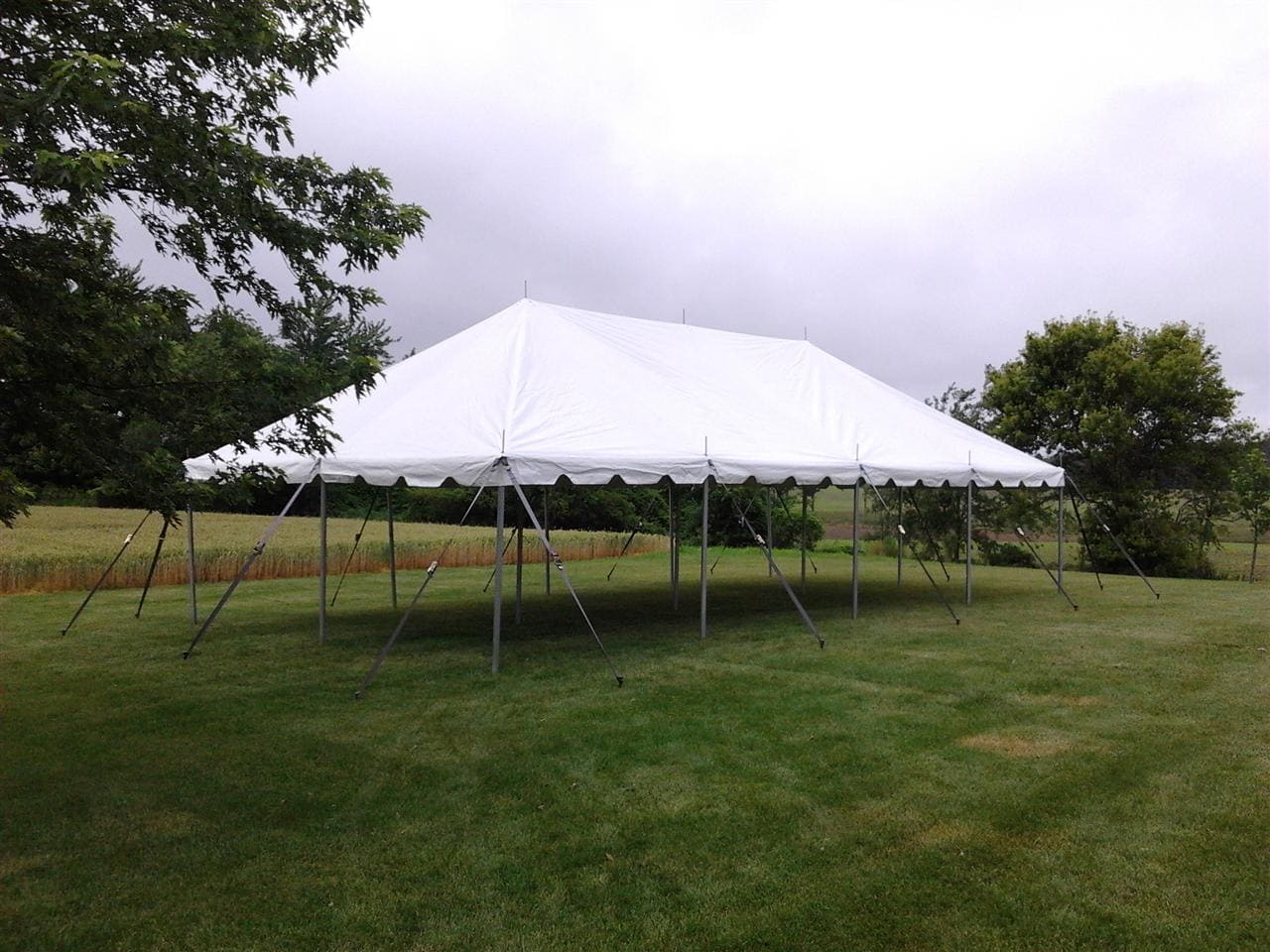 20 x 40 Tent Canopy & 20 x 40 Tent Canopy - Taylor Rental Party Plus