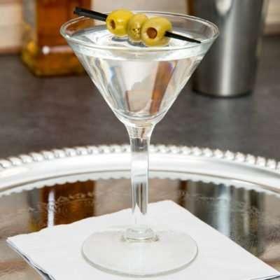 3 Martini Glass (4.5 oz)