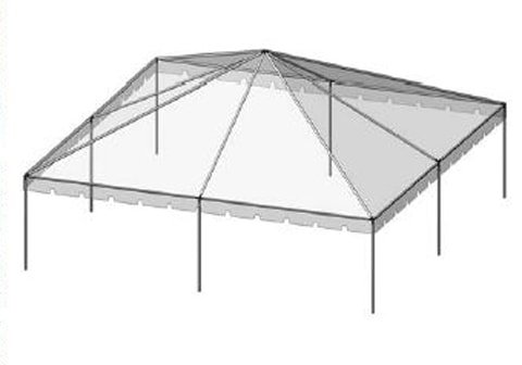 30 x 30 Tent Canopy - Taylor Rental Party Plus