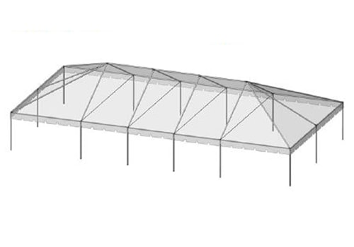 30 x Tent Canopies Rentals - Taylor Rental Party Plus
