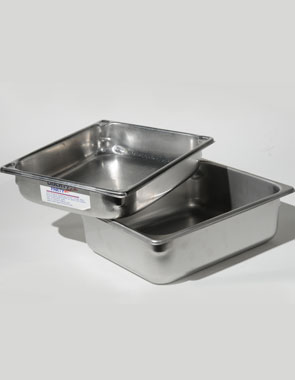 4 QT Food pan (2.5_ deep) Chafer - Half Food Pans