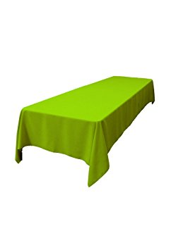 60 x 120 linen lime green taylor rental party plus. Black Bedroom Furniture Sets. Home Design Ideas