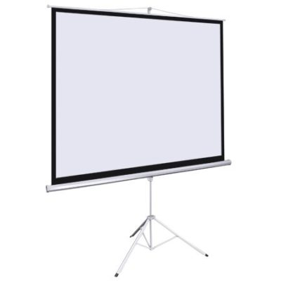 70 x 70 Inch Projection Screen with Tripod Stand