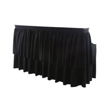 Bar - 6' Table Top with Skirting