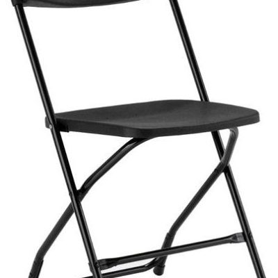 Chair - Black Samsonite (Metal Folding) Single