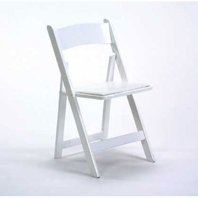 Chair - White Resin