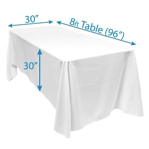 8 ft Table Drape