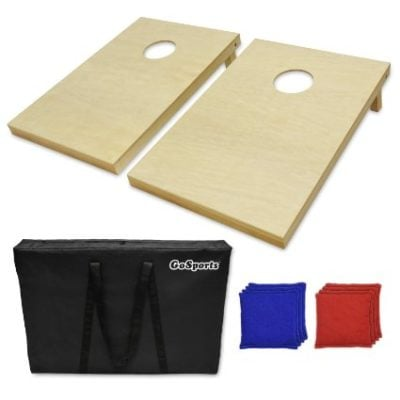 Cornhole Set with 8 Bags and Carrying Case