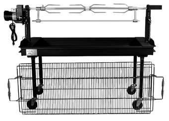 GRILL (2'x 5' - ELECTRIC ROTISSERI CHARCOAL)