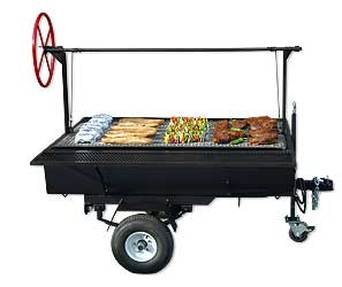 GRILL (3' x 5' - TOWABLE)