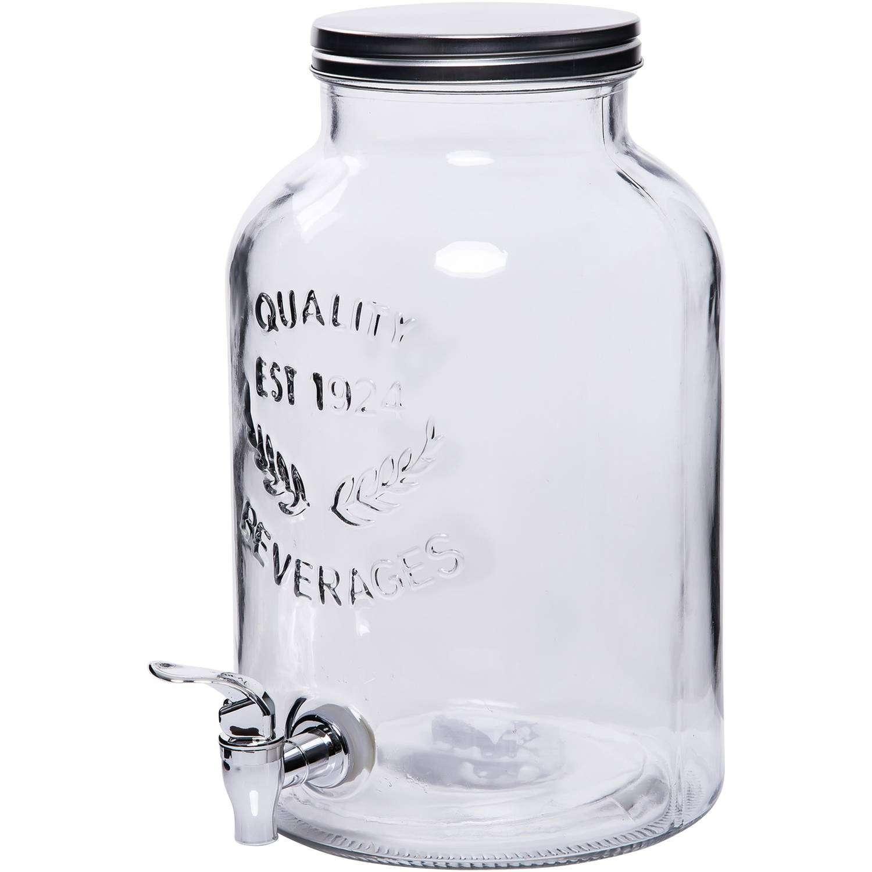 Mason Jar Glass Drink Dispenser 2 Gallon Taylor Rental