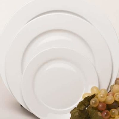 Plate Collection - Wide Rim Bistro