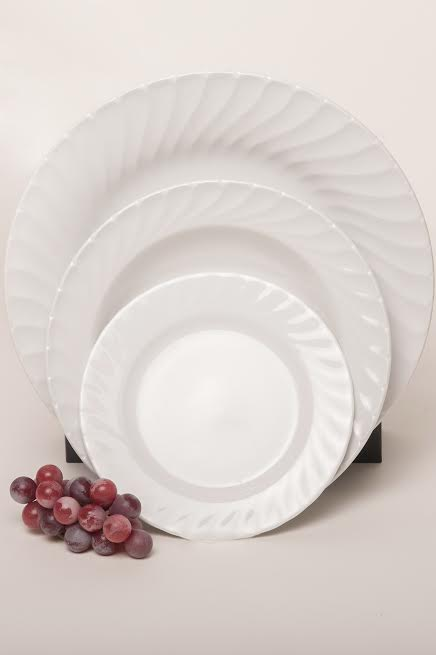 Swirl ... & Swirl Dinner Plate (10.5