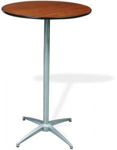 Amazing 30u2033 X 42u2033 Tall Round Cocktail Table
