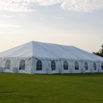 Tent - 40' x 80' with Cathedral Sides