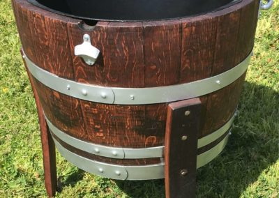 (1) Wine Barrel Ice Tub