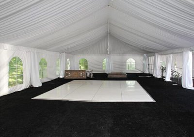 20x50 with tent liner _ white dance floor