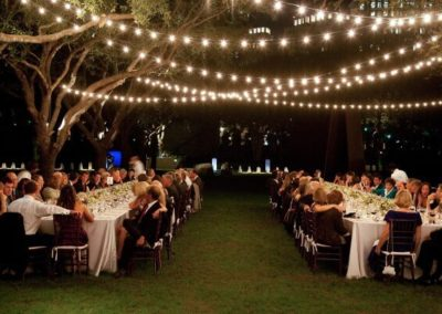 Outdoor Reception (String Lights)