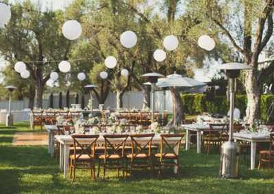 Sonoma Wedding Lighting