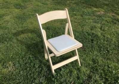 Vintage Creme Chair