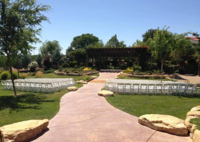 White Resin Winery Wedding