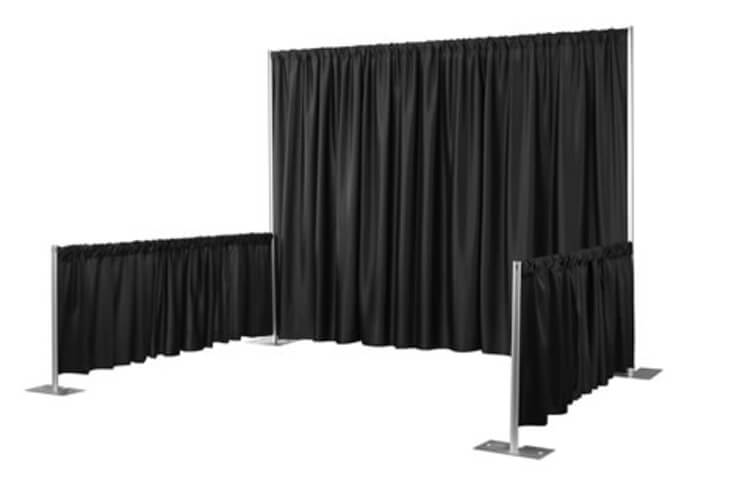 10 Foot Pipe And Drape Section Rental